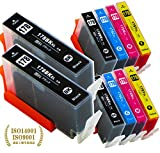 hp ( ヒューレットパッカード )用 HP178XL 互換インク 【4色セット×2セットに、ブラックを2本プラスした10本セット】増量サイズ ISO14001/ISO9001認証工場生産商品 - Best Reviews Guide