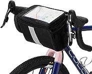 Lixada Bicycle Handlebar Insulated Cooler Bag Cycling MTB Mountain Road Bike Front Basket Pannier Bag