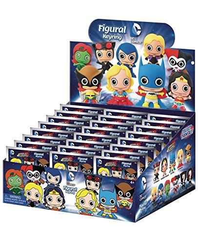 DCコミックス/ レーザーカット フィギュラル・キーリング ウーマン・オブ・DCコミックス: 24個入りボックス