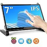 ROADOM 7インチ Raspberry Pi用タッチモニター IPS高解像度1024X600 スピーカー内蔵 Rsp…