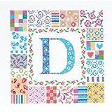 DMC 刺繍キット BESTSELLERS&SAMPLERS Patch letter 20X20cm アイーダ14カウント(55目) BK1208
