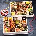 京都 しょうざん おせち料理 2019 珠玉 特大二段重 60品 盛り付け済み 冷凍おせち お届け日:12月30日