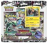 Pokemon TCG : Sun & Moon Celestial Storm–Tapu Kokoブリスターパック| 3ランダムブースターパックの10カード各| Includes Rare Authentic legendary alolan Guardian Holofoilカード