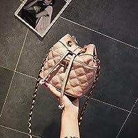 RBBB 夏のの上で新金の仙女のかばんの女性は斜めにかばんを包みます,ピンク