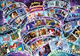 1000ピース ジグソーパズル ディズニー アニメーション ヒストリー(55作品) 世界最小1000ピース (29.7x42cm)