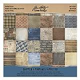 Advantus TH93260 Idea Ology Stash Paper Pad , 12 x 12, Dapper, Multicolor by ADVANTUS CORPORATION