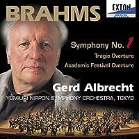 ブラームス:交響曲第1番悲劇的序曲、大学祝典序曲