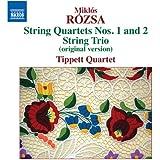 String Quartets Nos. 1 & 2/String Trio (Original V
