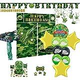 バースデーパーティーセット ::Ya Otta タンク ピニャータ 迷彩パーティー用品と子供用誕生日パーティーゲームのeBook付き