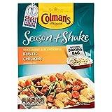 Colman's Season & Shake Rustic Chicken (33g) コールマンのシーズンと素朴な鶏肉を振る( 33グラム)