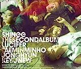 SHINee The 2nd ALBUM 「LUCIFER」(DVD付)【ジャケットA】
