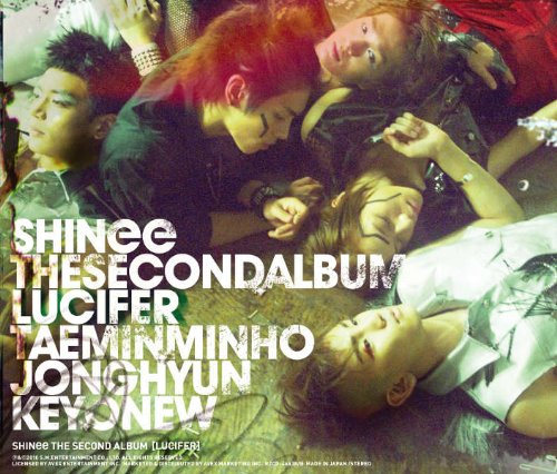 SHINee The 2nd ALBUM 「LUCIFER」(DVD付)【ジャケットA】