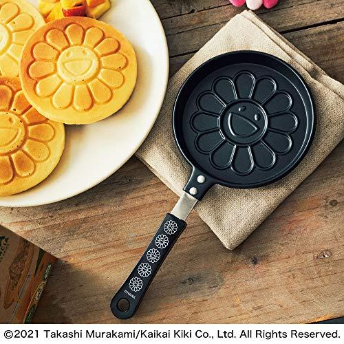「smart 2021年4月号」の付録は村上隆の『「お花」パンケーキパン』