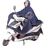 ican® レインコート レディース メンズ オートバイ  原付バイク 電動スクーカー ポンチョ レインアイテム フード付き XXXL 防水 ブルー パープル レッド ピンク 男女兼用 フリーサイズ