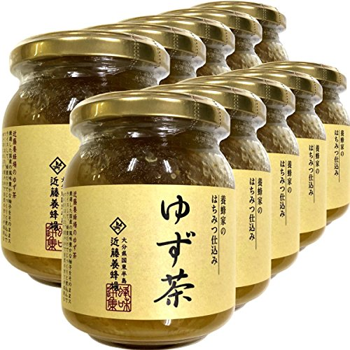 国産 養蜂家のはちみつ仕込み ゆず茶 250g×10袋セット