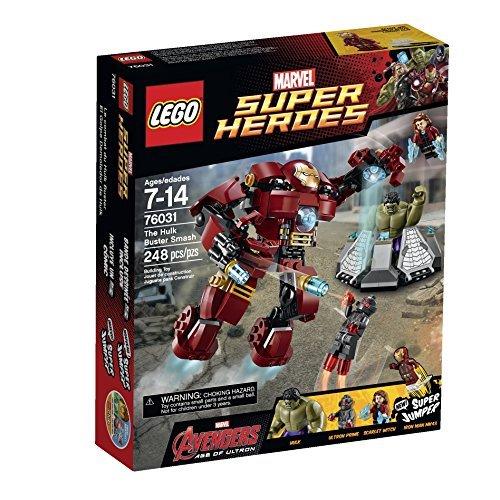 LEGO レゴ スーパーヒーローズ ハルクバスター スマッシュ 76031 [並行輸入品]