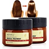 Magical Keratin Hair Treatment Mask, 2pcs Advanced Molecular Hair Roots Treatment Professtional Hair Conditioner, 5 Seconds t