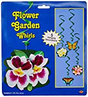 Flower Garden Whirls (5 / Pkg)