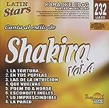 Tropical Zone Prod Shakira Vol. 4-Karaoke Latin Starsの画像