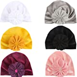 CaJaCa Infant Toddler Girls Boys Toddler Cotton Hat Babys Turban Kids Knotted Hat Cap Set