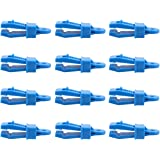TRIWONDER 12pcs Tarp Clips Crocodile Tent Awning Clamps Set Heavy Duty Lock Grip Instant Clip for Camping Canopy Tarps Carava