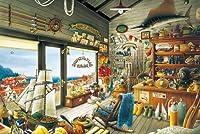 1000ピース ジグソーパズル ジョー&ロイ釣具店 (50x75cm)