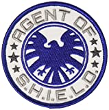 AVENGERS Classic Agent Of S.H.I.E.L.D., Officially Licensed Marvel Original Comics, Iron-On/Sew-On, 3