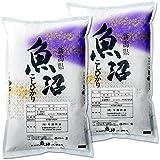 【新米】【精米】 新潟県魚沼産 白米 産直 コシヒカリ 10kg (5kg×2袋) 平成30年産