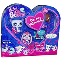 Littlest Pet Shop Figures Exclusive Valentine's Day 4-Pack (Bunny, Frog, Doggie and Panda) [並行輸入品]