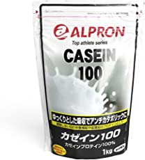 アルプロン カゼインプロテイン100 無添加 1kg【約50食】
