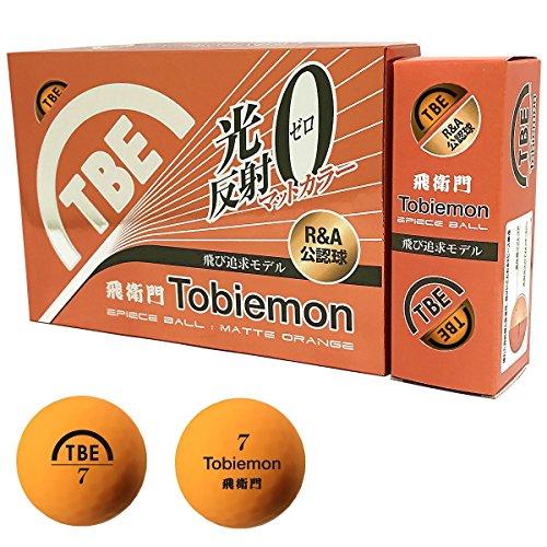 TOBIEMON(トビエモン) ゴルフボール 蛍光マット 公認球