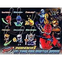Tokumei Sentai go-busters Gashapon go-bustersスイング36のセット全体