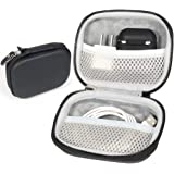 Travel Protection & Storage Case for Airpods Case Bundle with Color Matching Silicon Skin, Featured Design, mesh Pouches for