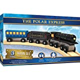 Masterpieces The Polar Express Real Wood Toy Train Set