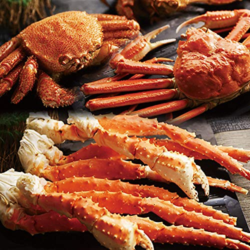 三大蟹 セット タラバガニ 足 ズワイガニ 毛ガニ 姿 食べ比べ かに ボイル 北国からの贈り物