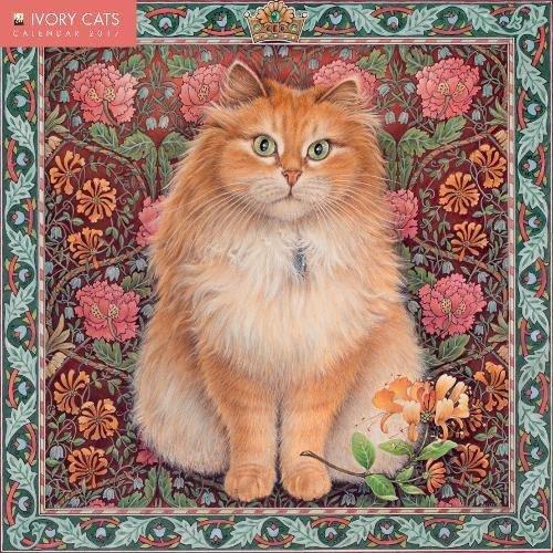 Ivory Cats wall calendar 2017 (Art calendar)