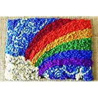 Harrisville Designs Rainbow Rug Hooking Building Kit [並行輸入品]
