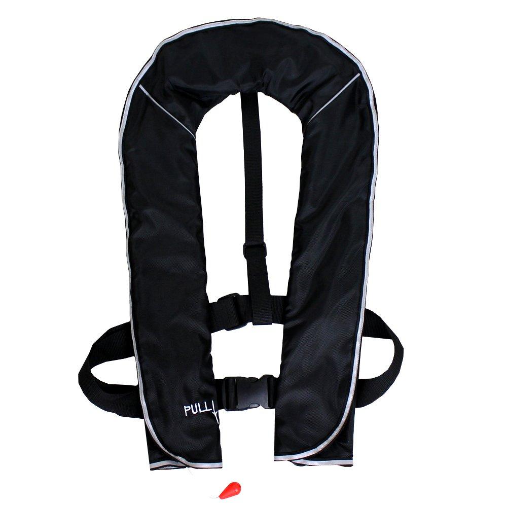 ダバダ ライフジャケット インフレータブル ベストタイプ 膨張式 救命胴衣 男女兼用 フリーサイズ