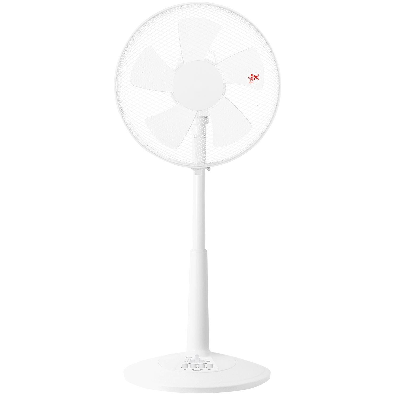山善の30cmリビング扇風機・ホワイト・YLT-C30W