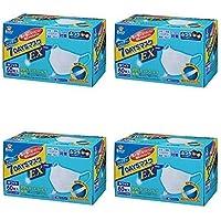 【まとめ買い】(PM2.5対応)フィッティ 7DAYSマスクEX ふつうサイズ ホワイト 60枚入 (ふつうサイズ×4個)