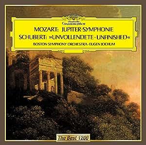 シューベルト:交響曲第8番「未完成」、モーツァルト:交響曲第41番「ジュピター」