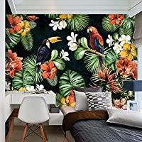 YCRY-壁紙3D壁紙パーソナライズカスタム東南アジアパストラル写真壁画ダイニングRomカフェファッションインテリア自然壁紙3D-壁壁画-壁装飾-450x300cm