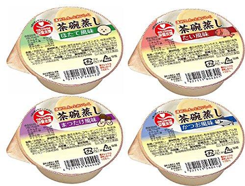 ホリカフーズ 栄養支援茶碗蒸し 詰合せ 24(4種×6)×1箱入