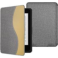 ATiC Amazon Kindle Paperwhite専用スーパー軽量薄型ケース (オートスリープ機能付き 2012/ 2013/ 2015/2016/マンガモデル適応) Jeans GRAY