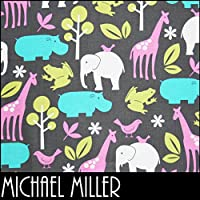 【FA4251X4061】【50cm単位】MICHAEL MILLER(マイケルミラー)アニマル柄