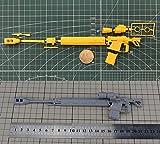 MG 1/100 THE ORIGIN シャア専用ザクII MS用対艦ライフル ASR-78 全長22ミニ デカール付属 [並行輸入品]
