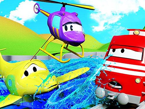 ピザ屋さんのカルロ & ヘリコプターのヘラ - カーシティーのトレインのトロイ