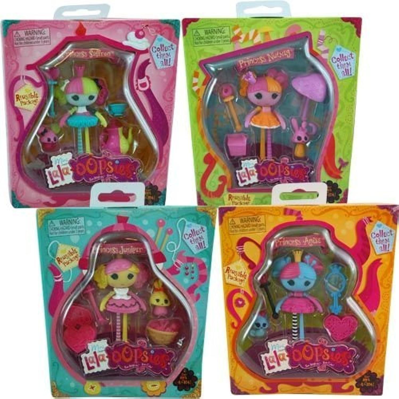 Lalaloopsy Mini Lala Oopsy 4 Doll Set Princess Anise, Saffron, Nutmet, and Juniper Oopsies Collection by Lalaloopsy [並行輸入品]