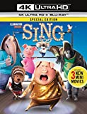 SING/シング (4K ULTRA HD + Blu-rayセット)[4K ULTRA HD + Blu-ray]