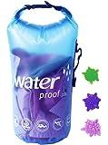 HWT 洗濯袋 トラベル用品 防水 ドライバッグ 洗濯バッグ 折りたたみ 旅行 携帯 ランドリー バッグ (10L)